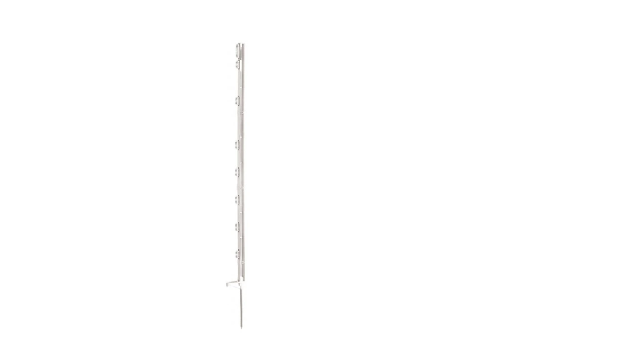 Plastmasas mietiņš 90cm, balts