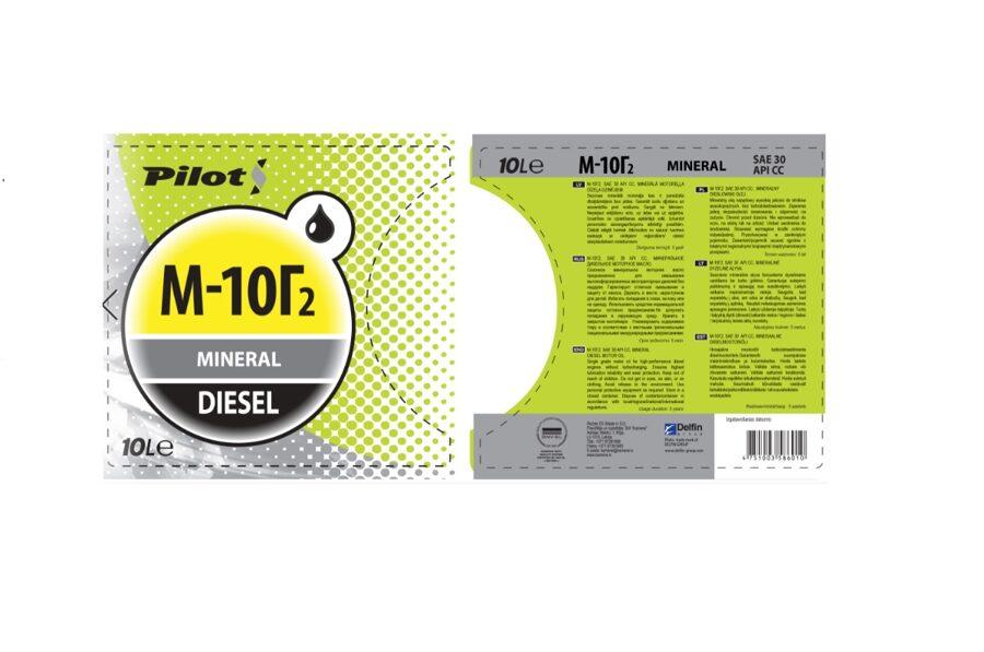 Motoreļļa PILOTS M-10G2K, 5L