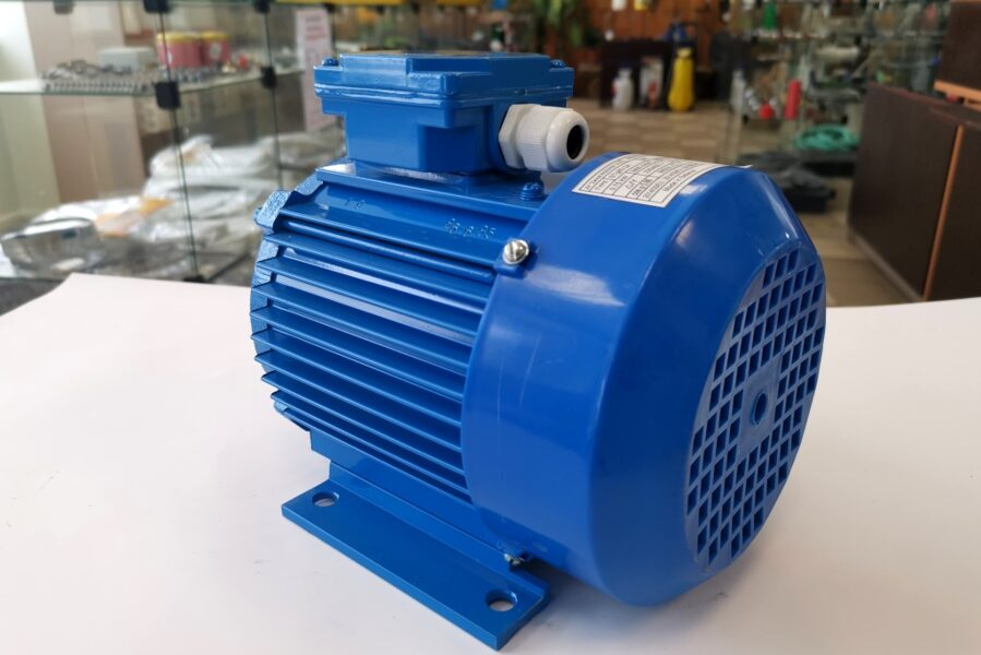 Elektriskais dzinējs 3F 0.75 kW