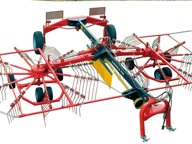 Siena vālotājs-ārdītājs GD, ar 2 rotoriem